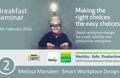 Depot[Xtra] Breakfast Seminar - Smart Workplace Design