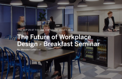 The Future of Workplace Design - Breakfast Seminar