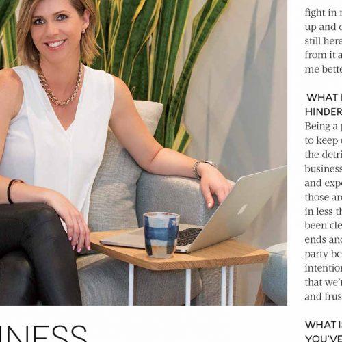 Business Chicks Latte Mag Spotlight