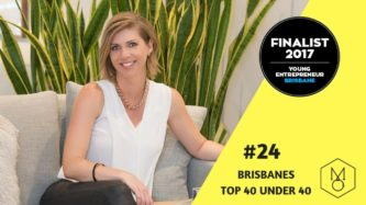 2017 Year In Review - Melissa Marsden #24 of Brisbane's top 40 under 40 young entrepreneurs