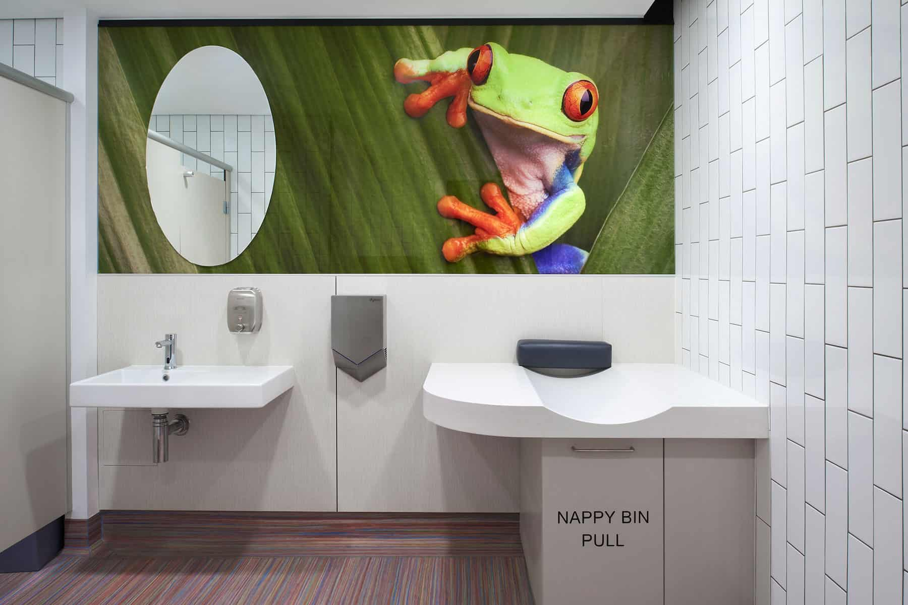 Bathroom Upgrade | Brisbane International Airport
