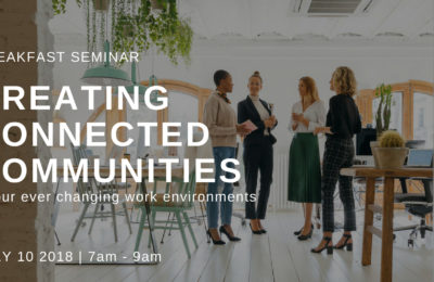 Breakfast Seminar - Creating Connected Communities